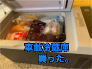 車載用冷蔵庫【F40C4TMP購入】メリット