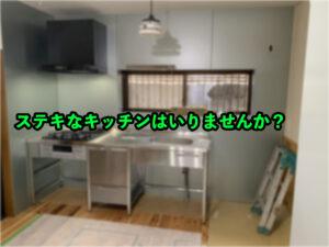 【ステンレスキッチン】キッチン紹介【シンプルでカッコイイ】
